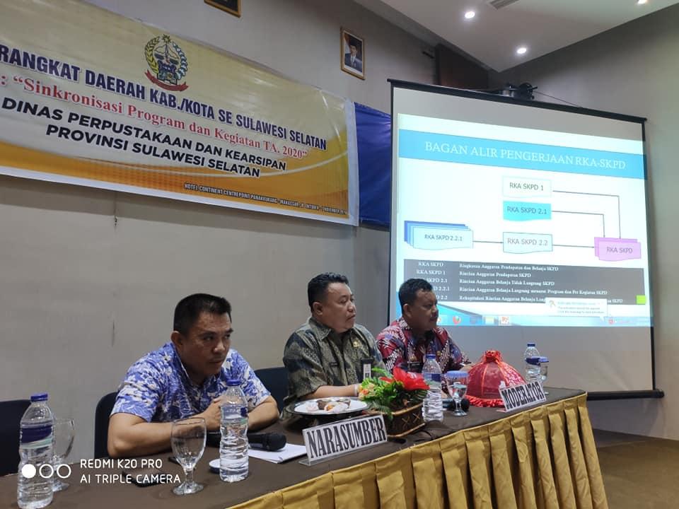 """Forum Perangkat Daerah """"Sinkronisasi Program Dan Kegiatan TA 2020"""