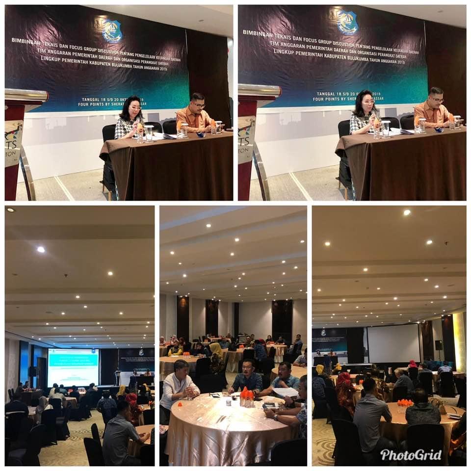 Bimtek & FGD PKD Kab. Bulukumba di Four Points by Sheraton Makassar